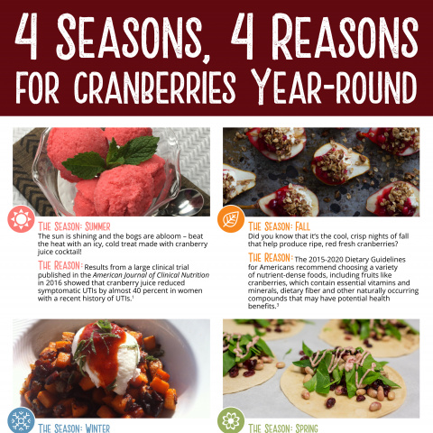 4 Reasons, 4 Seasons for Cranberries Year-Round