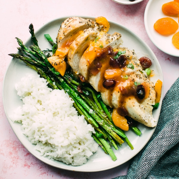 Cranberry Apricot Chicken